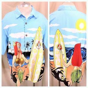 RARE Disney Roger Rabbit/Jessica Rabbit Shirt.